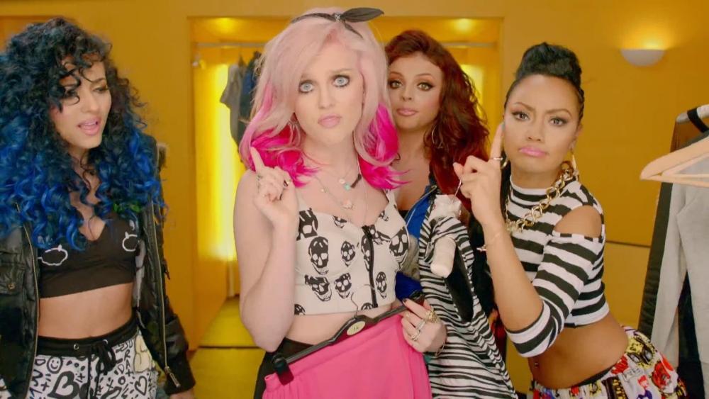 Little Mix and Missy Elliott team up in eye-straining How Ya Doin' video