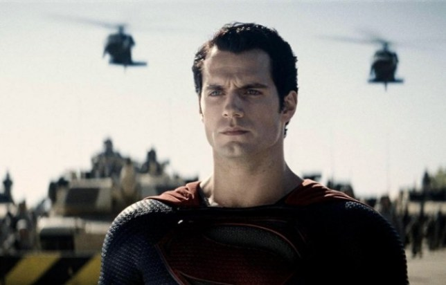 Henry Cavill is Superman in Christopher Nolan's Man Of Steel (Picture: Allstar)
