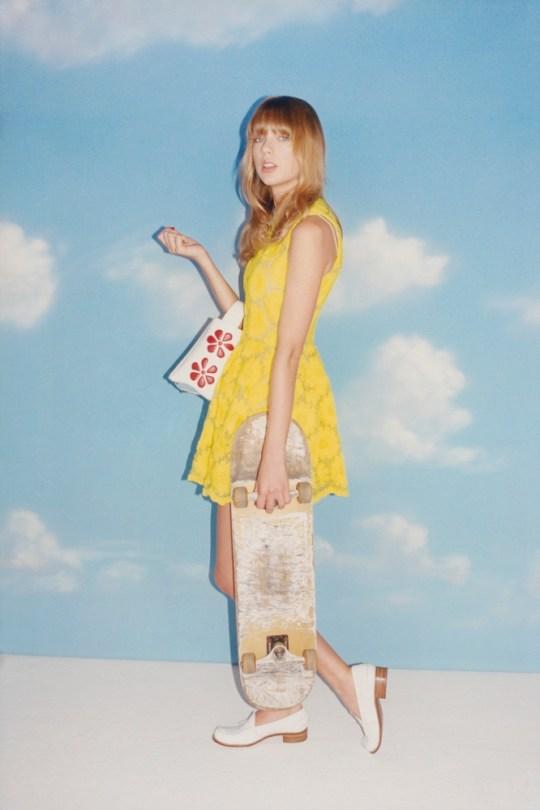 Taylor Swift with skateboard [Wonderland Magazine - April/May 2013] ph Tung Walsh