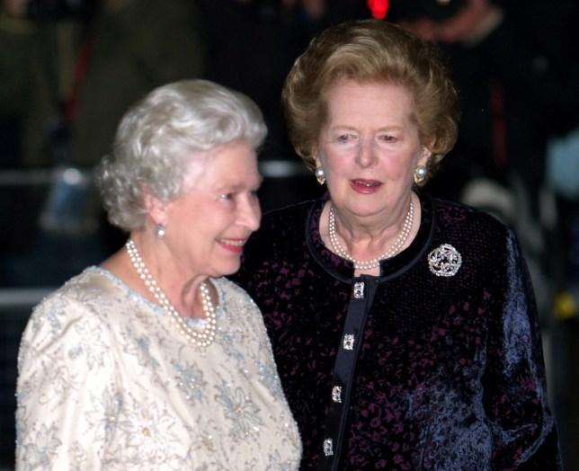 Queen and Thatcher