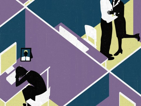 My work lover kissed another girl in front of our colleagues – how can I hold my head up?