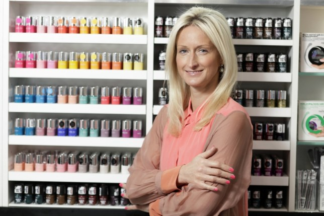 Thea Green founded Nails Inc after being inspired by nail bars in the US(Picture: VisMedia)