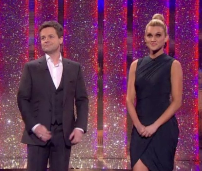 Ashley Roberts Leaves Declan Donnelly In The UK As She