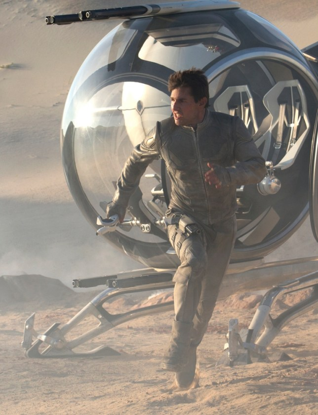 Tom Cruise stars in Oblivion (Picture: Universal)