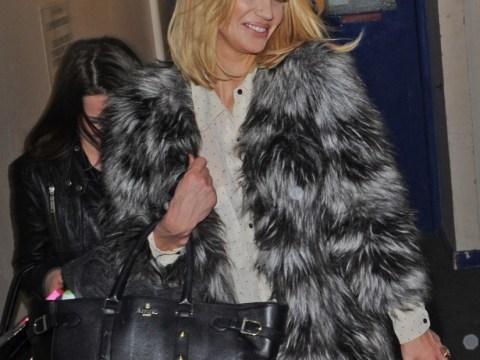 Sarah Harding leaves Celebrity Juice studios grinning as she makes first public appearance since arrest