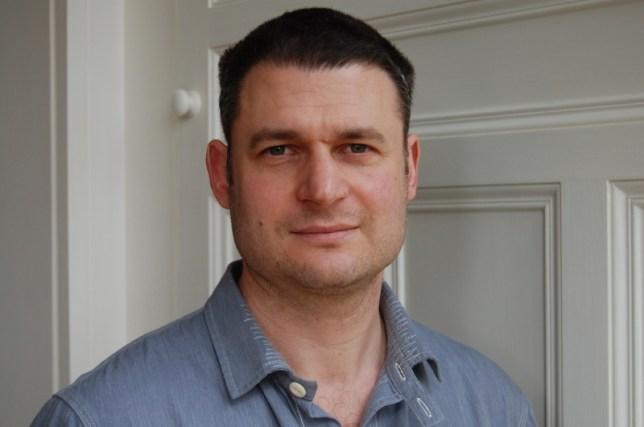 Author William Sutcliffe