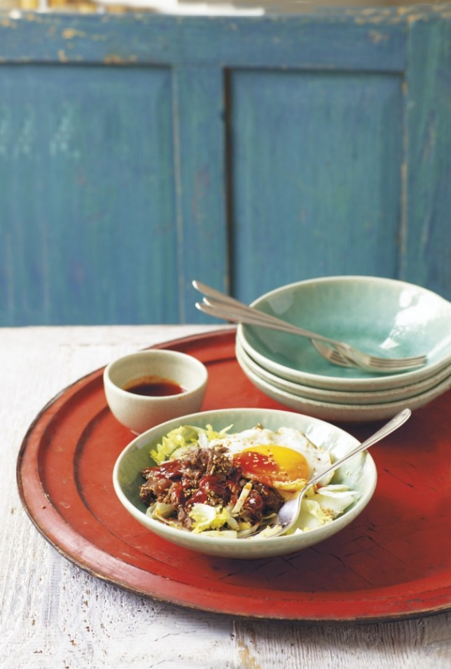 Make bulgogi salad from Tori Haschka's A Suitcase And A Spatula (Picture: Isobel Wield/RPS)