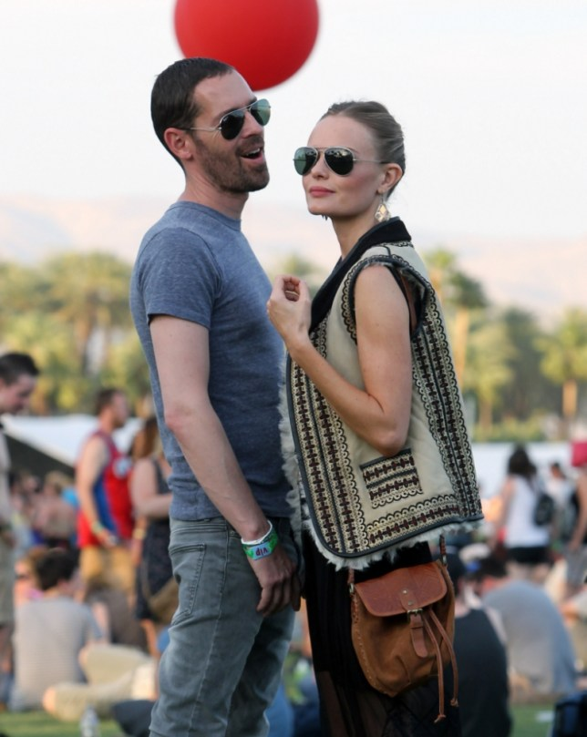 Kate Bosworth at Coachella 2013 (Picture: Xposurephotos.com)