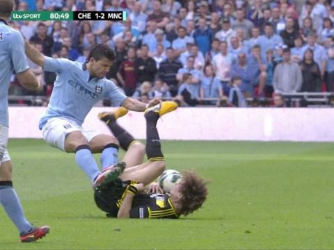 David Luiz: Sergio Aguero should apologise over horror tackle in FA Cup semi-final