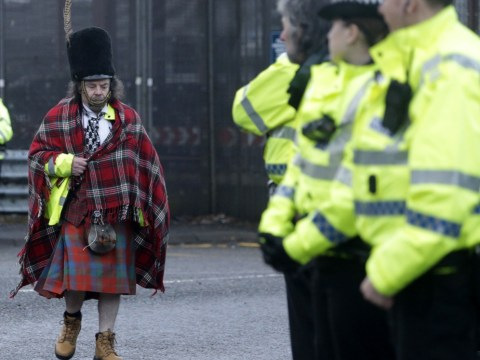 Gallery: Anti-Trident protesters attempt to blockade Faslane naval base