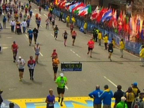 Paula Radcliffe and David Weir take to Twitter to share Boston marathon messages