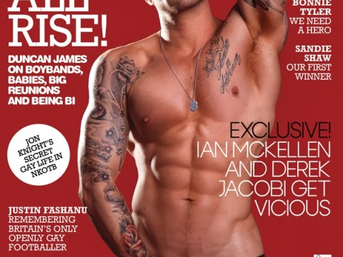 Blue star Duncan James: News of the World forced me to come out as bisexual