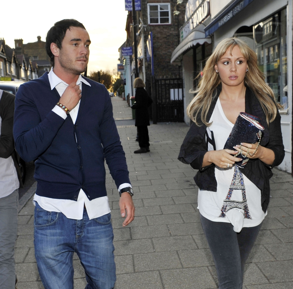 16.APRIL.2010 - ESSEX - UK RAPE SUSPECT JACK TWEED AND EX BIG BROTHER CONTESTANT CHANELLE HAYES PICTURED ENJOYING A ROMANTIC DINNER DATE AT A TRENDY RESTAURANT IN ESSEX. BYLINE MUST READ : XPOSUREPHOTOS.COM *UK CLIENTS MUST CALL PRIOR TO TV OR ONLINE USAGE PLEASE TELEPHONE 020 7377 2770 & +1 310 600 4723*