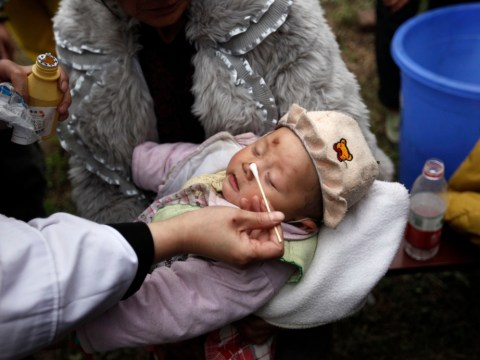 China earthquake: Baby plucked alive from rubble