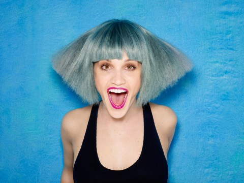 Ashley Roberts ditches her trademark blonde locks and reveals shock new blue hairdo