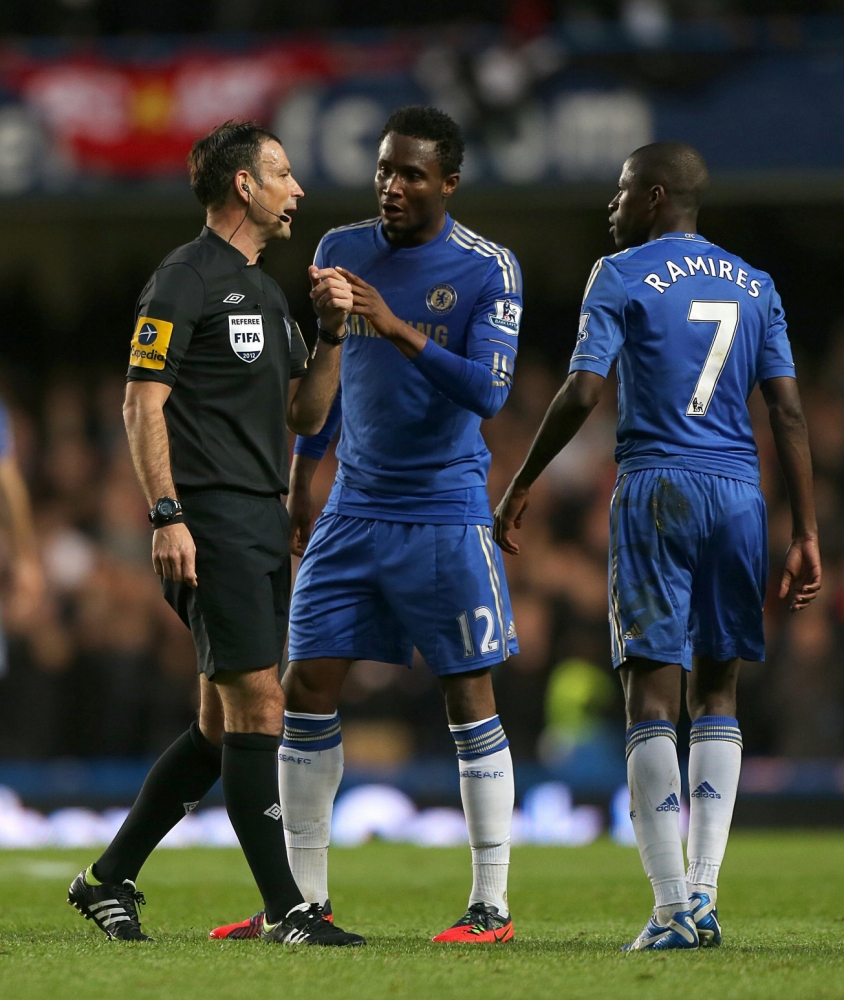 Mark Clattenburg set for Stamford Bridge return for first time since racism row