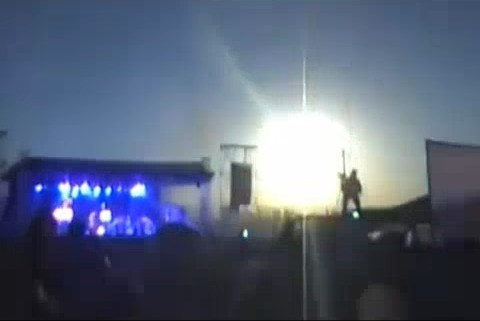 Suspected meteor bursts into atmosphere above concert in Argentina