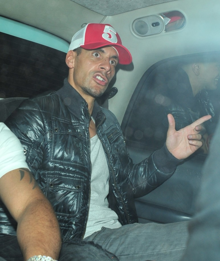 Rio Ferdinand leads Manchester United title party, then gets up early to take the kids to school