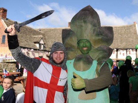 Gallery: Knights, Morris dancers and a giant asparagus – it must be St George's Day