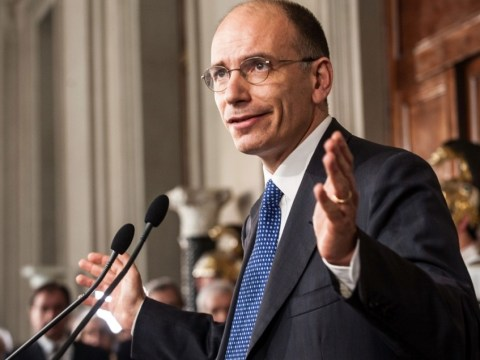 Enrico Letta appointed new Italian prime minister