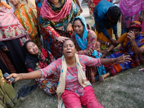Almost 200 killed as Primark supplier factory collapses in Bangladesh