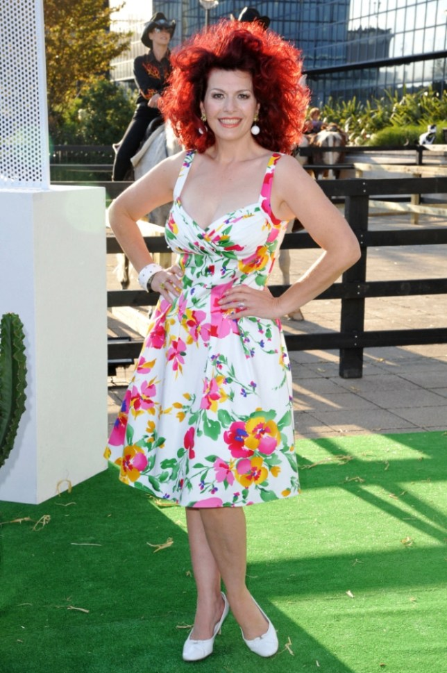 Cleo Rocos's book, The Art Of Positive Drinking, is out now (Picture: Capital Pictures)