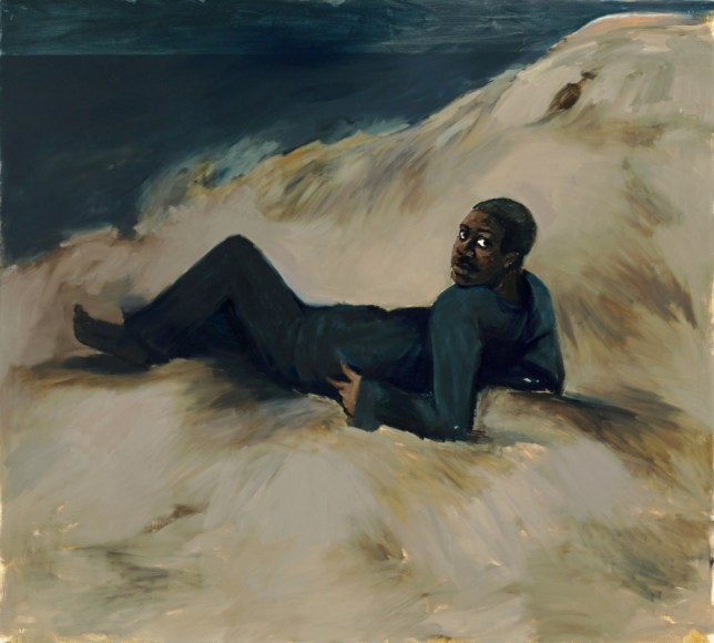 'Midnight, Cadiz' 2013 by Lynette Yiadom-Boakye who is shortlisted for the Turner Prize 2013. (Picture: Lynette Yiadom-Boakye/Marcus Leith/PA Wire)