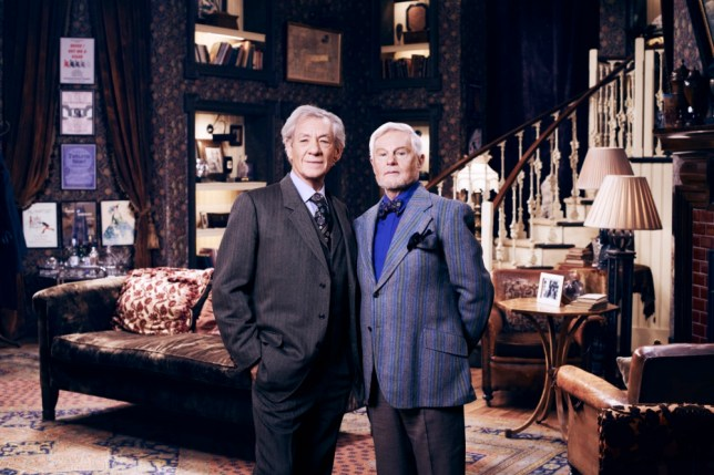 Ian McKellen and Derek Jacobi