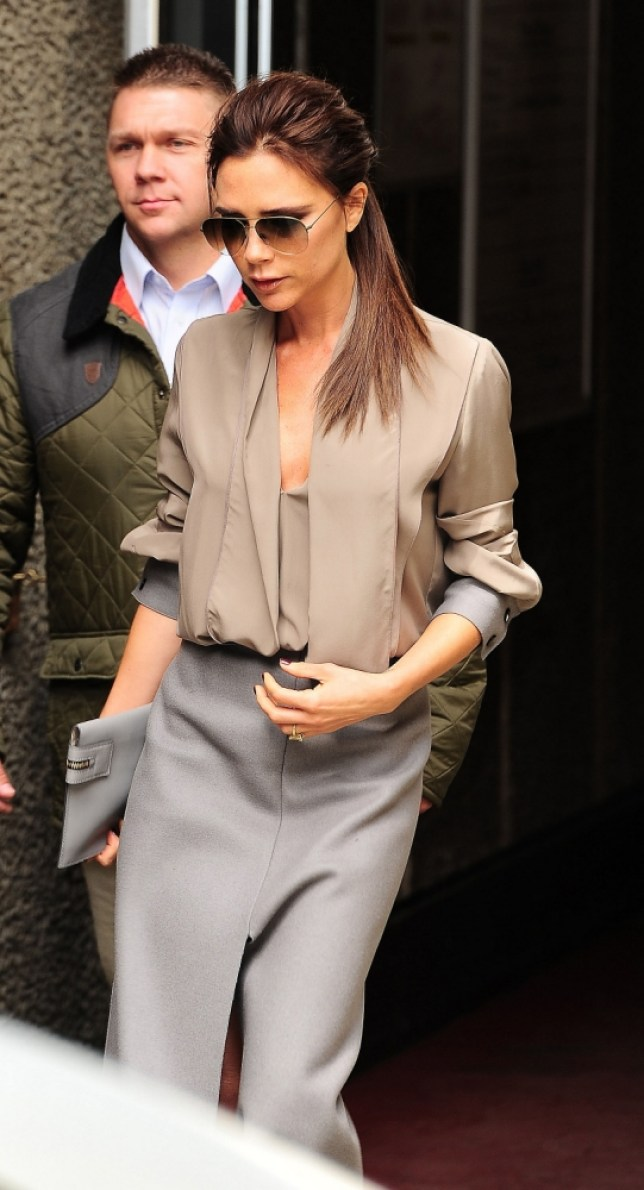 28 April 2013 - LONDON  - UK  VICTORIA BECKHAM PICTURED LEAVING THE VOUGE FESTIVAL IN LONDON   BYLINE MUST READ : XPOSUREPHOTOS.COM  ***UK CLIENTS - PICTURES CONTAINING CHILDREN PLEASE PIXELATE FACE PRIOR TO PUBLICATION ***  **UK AND USA CLIENTS MUST CALL PRIOR TO TV OR ONLINE USAGE PLEASE TELEPHONE  44 (0) 208 370 0291 or 1 310 600 4723
