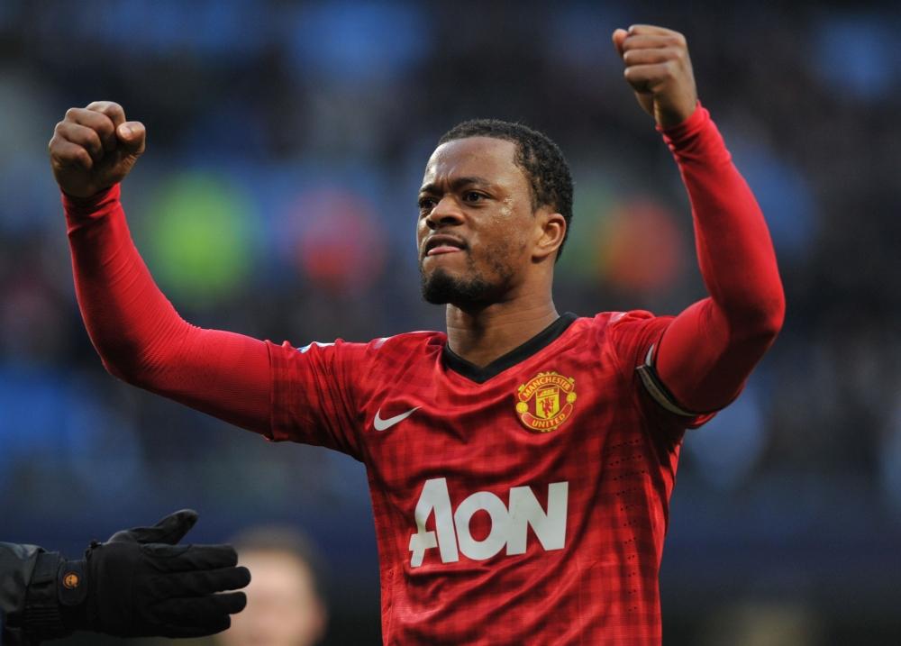 Patrice Evra: I'd fear Manchester United sack over Robin van Persie celebration