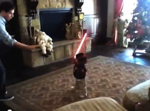 Baby-Wan Kenobi: What happened when a toddler got hold of a lightsaber