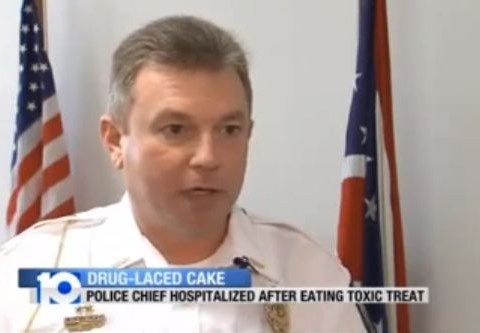 Police chief taken to hospital after accidentally eating his daughter's cannabis cake