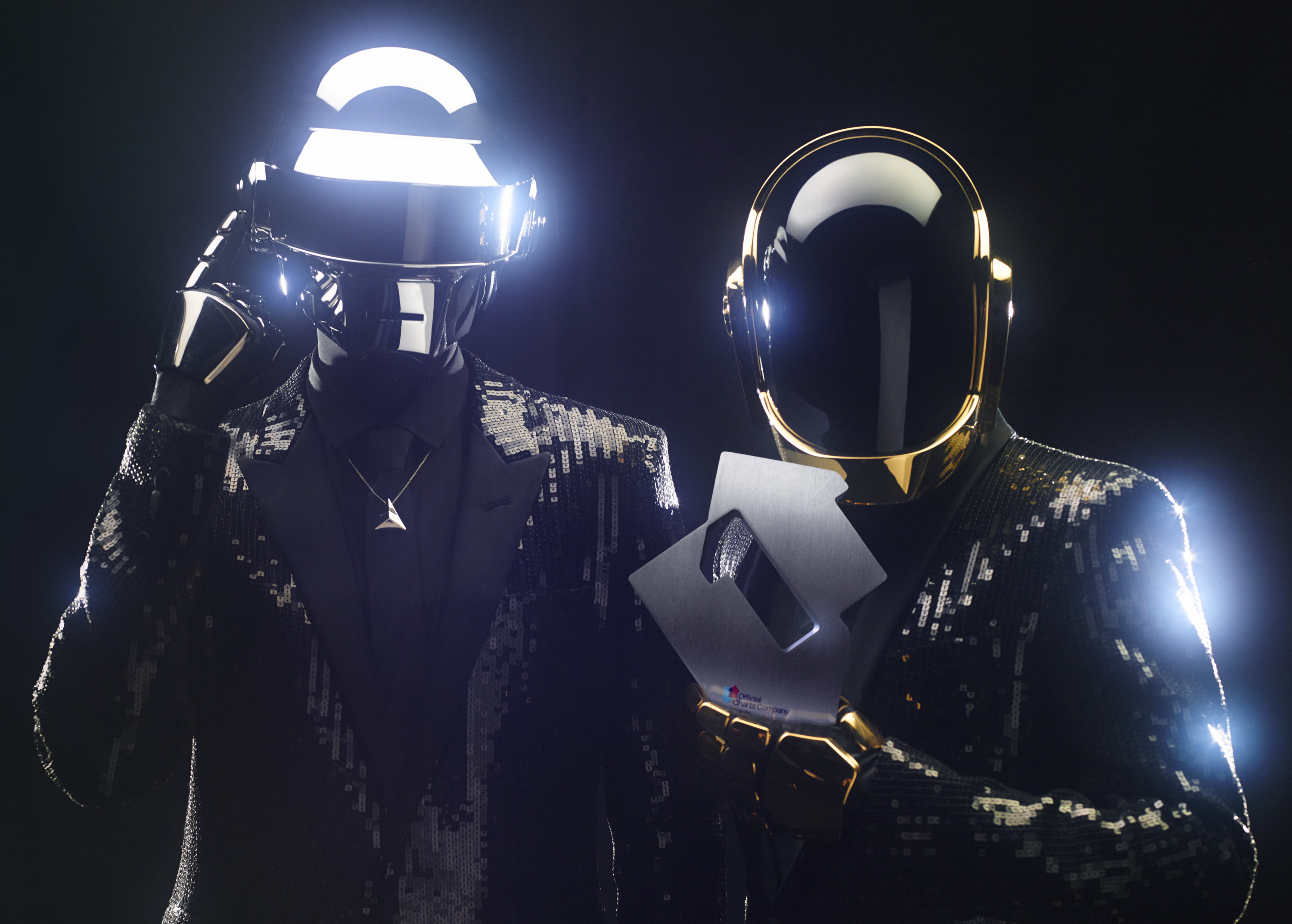 Daft Punk are staying at number one (Picture: OfficialCharts.com)