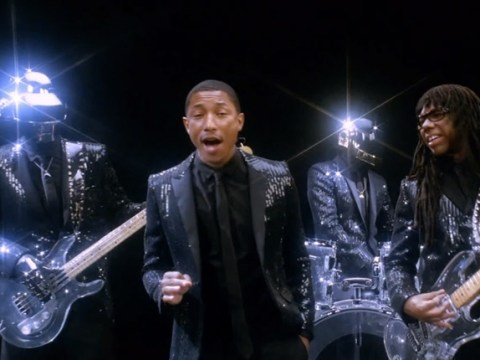 Daft Punk go straight to iTunes chart No.1 with Pharrell Williams track Get Lucky