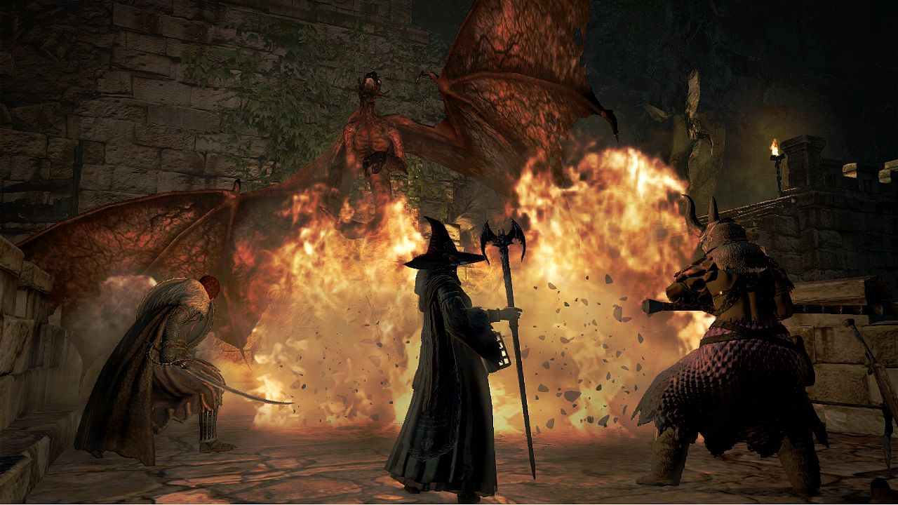 Dragon's Dogma: Dark Arisen (360) – you shall not pass (unless you're Death, in which case go right ahead)