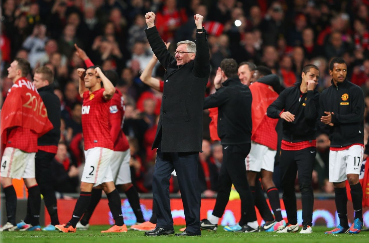 Sir Alex Ferguson: Manchester United's title win has taken 10 years off me