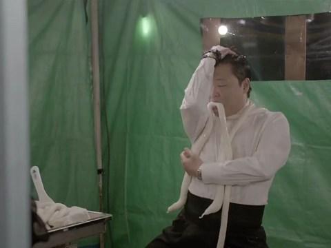 10 terrifying stills from Psy's Gentleman music video