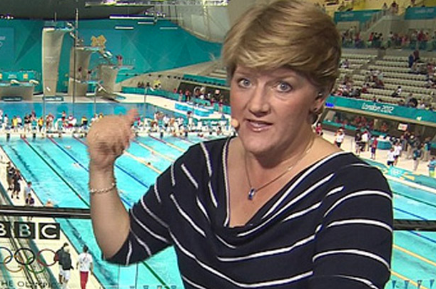 Claire Balding was taken to the nation's hearts during the Olympics (Picture: BBC)