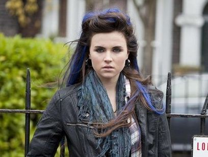 Emer Kenny played Zsa Zsa Carter in EastEnders and is currently starring in Pramface (Picture: BBC)