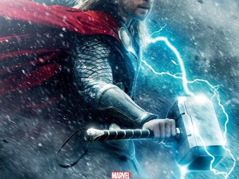 Thor: The Dark World – First poster sees Chris Hemsworth wielding hammer