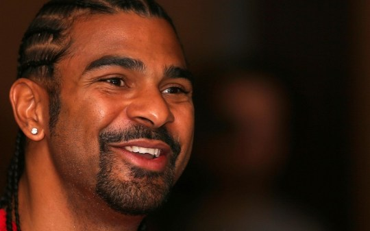 Boxer David Haye during a press conference at the Park Plaza Riverbank Hotel, London. PA Wire/Press Association Images