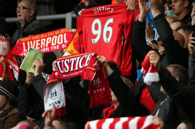 96 people died in the 1989 Hillsborough disaster (Picture: Getty)