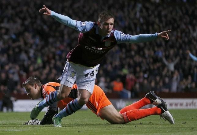 Andreas Weimann's crucial goals have helped maintain Aston Villa's Premier League status (Picture: Reuters)
