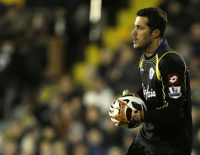 Julio Cesar is reportedly being targeted by Arsenal (Picture: AP)