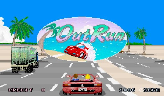 OutRun – it's definitely fun
