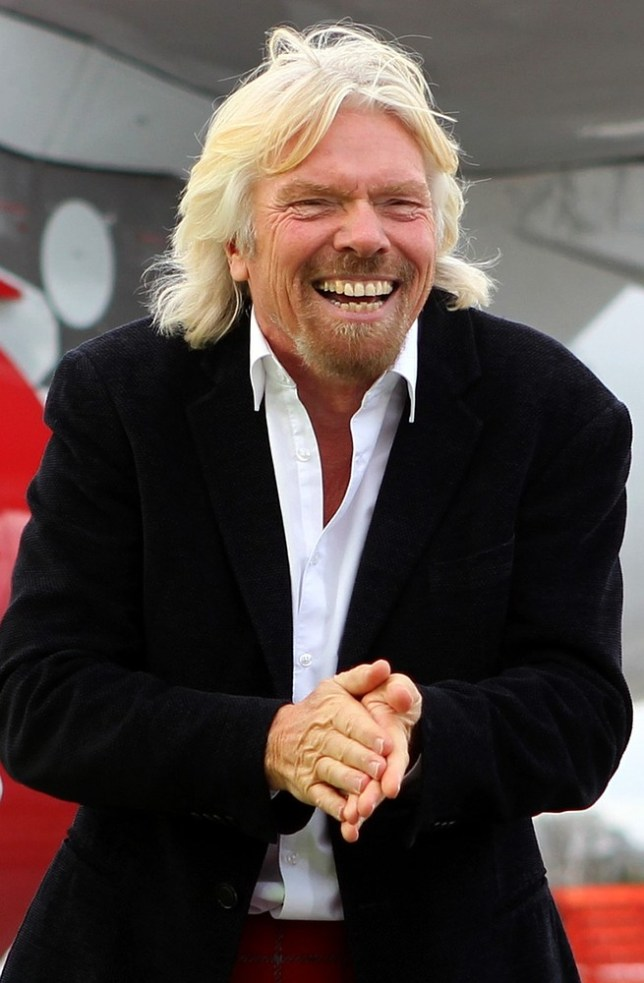 File photo dated 08/04/13 of Sir Richard Branson who has been named at number 19 in the 2013 Sunday Times Rich List. PA Wire/Press Association Images