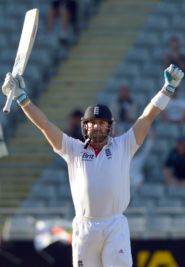 Matt Prior has been named England Cricketer of the Year (Picture: PA)
