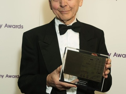 John Humphrys lands Sony Award for interview that forced BBC boss to quit