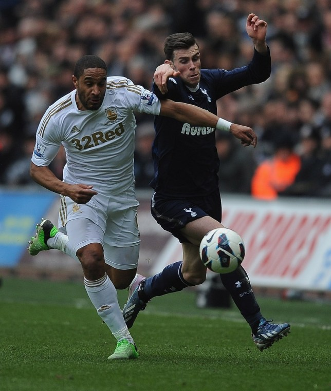 Ashley Williams (left) is on the verge of joining Arsenal (Picture: Getty)