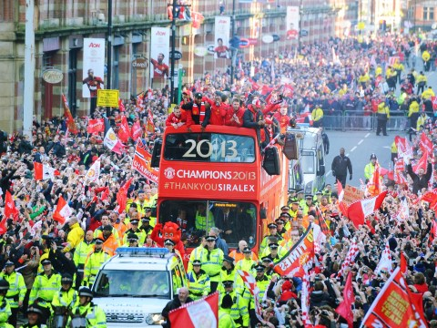 Gallery: Manchester United Premier League victory parade